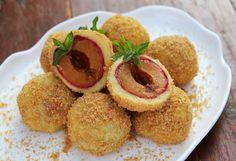 Mandlové ovocné knedlíky