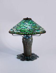 Tiffany Studios Lily Pad Table Lamp.