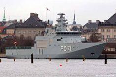 HDMS Ejnar Mikkelsen (P571) - Knud Rasmussen class Patrol ...