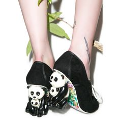 Irregular Choice Pin Yin Heels ($209) found on Polyvore featuring shoes, irregular choice, cushioned shoes, irregular choice footwear, laced up shoes and lace up oxfords