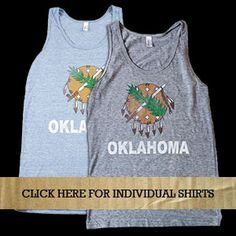 Oklahoma friends... you'll want these tees on this site. Okay..i kinda want one..cute!