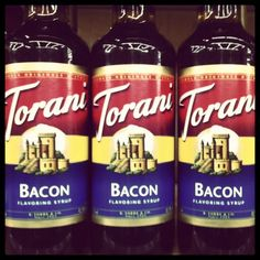 Is this true?? bacon syrup