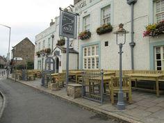 corbridge uk angel inn - this is where I got my butt coaster...nice pub nice rooms