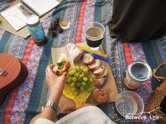 보헤미안풍 피크닉 즐기기 Bohemian picnic, fabric