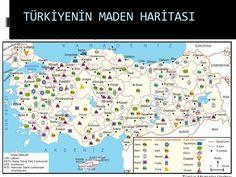Türkiye'de Kaç Çeşit Maden Çıkartılır ?