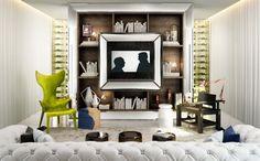 Top Interior Designers | Steve Leung Studio | Best Interior  - Designers - LOVE TV wall