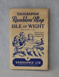 Isle of Wight ENGLAND Map Pillow  Wanderlust  Pinterest