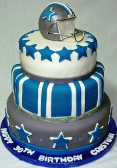 Dallas Cowboy cake..LOVE