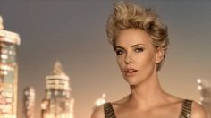 Charlize Theron J'adore new commercil | ... Charlize Theron dazzles in a glittering backless gown in new J'adore