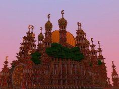 Red Mosque Minecraft World Save