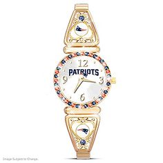 My Patriots Officially Licensed New England Patriots Women's Watch
