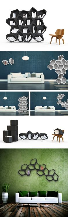 BUILD Is A Modular Shelving System That Allows User To Design His Own  Composition. Lightweight