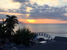 Sunset at Buccaneer Beach Hotel / UWI Mona Werstern Jamaica Campus Hall of Residence in Montego Bay, Jamaica