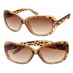 Apt. 9® 59mm Tortoise Rectangle Sunglasses, Dark Brown