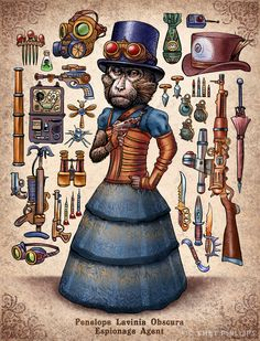 Steampunk Monkeys 06