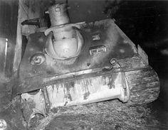 An abandoned Sturmtiger
