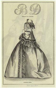 Walking dress. 1864 Petersons