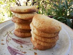 Μπισκότα λεμονιού νηστίσιμα