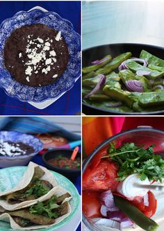 Tacos de Nopales, these deliciosos tacos are incredibly delicious and healthy. Made from a Mexican cactus, this dish will surely be remembered!   The Vegetarian Blog
