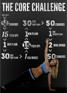 Health Warrior - Great set of exercises to challenge your core