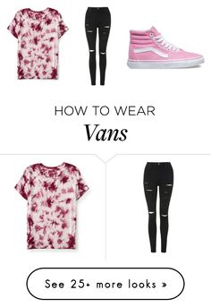 """""""Untitled #452"""" by dream-believe-and-live on Polyvore featuring Topshop, Aéropostale and Vans"""