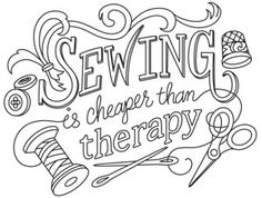 Tell it like it is, with this too-true phrase. Perfect for craft bags, pillows, T-shirts, and more! Downloads as a PDF. Use pattern transfer paper to trace design for hand-stitching.
