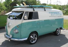 thedesperate.com surf van... My daughter has always wanted one of these beautifully built pieces of art!