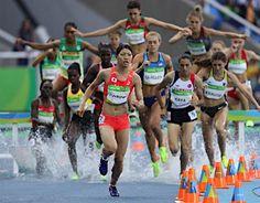 3000メートル障害予選の高見沢 :フォトニュース - リオ五輪・パラリンピック 2016:時事ドットコム
