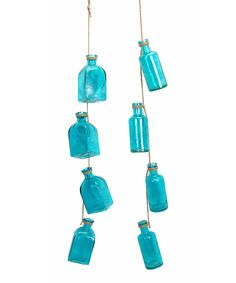 Look at this Blue Bottle Garland - Set of Two on #zulily today!
