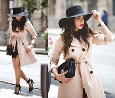 Gap Trench, Marc Jacobs Bag, Nasty Gal Shoes