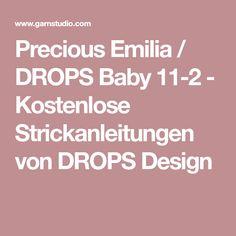 Precious Emilia / DROPS Baby 11-2 - Kostenlose Strickanleitungen von DROPS Design