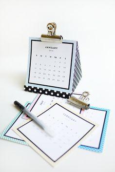 een nieuwe kalender