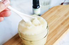 A homemade sugar scrub recipe that you can use on your hands, lips, and body for softer skin that's super moisturized. Last time I shared with you a DIY chamomile bath salt recipe to create a…