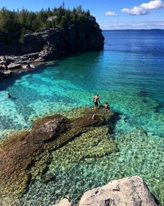 14 Hidden Ontario Beaches You Never Knew Existed - 14 Hidden Ontario Beaches You Never Knew Existed – Narcity - Ontario Camping, Ontario Travel, Top Travel Destinations, Places To Travel, Places To See, Beaches In Ontario, Tobermory Ontario, Ontario Parks, Canada Ontario