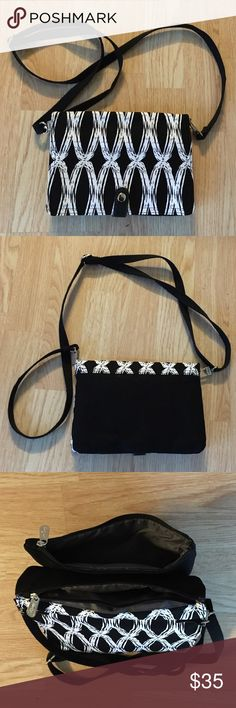 """Thirty-One Double Up Crossbody 6""""H x 8.5""""L x 1""""D Thirty-One Bags Crossbody Bags"""
