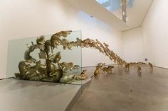 Cai Guo-Qiang - Head On (2009),  Bilbao, Spain |