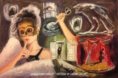 Il Segreto della Ballerina – Parte 1 – (bozzetto preliminare a gouache)