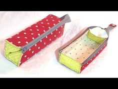 How to make a tray type pen case / Tray Type Pencil Case Tutor . - How to make a tray type pen case / Tray Type Pencil Case Tutor … - Pencil Case Tutorial, Wallet Tutorial, Pencil Case Pattern, Sewing Art, Sewing Crafts, Tape Crafts, Small Sewing Projects, Diy Couture, Pen Case