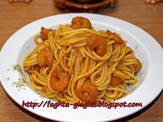Γαριδομακαρονάδα Greek Recipes, Pork Recipes, Real Food Recipes, Healthy Recipes, Shrimp Spaghetti, Pastry Cake, Diy Food, Salads, Food And Drink