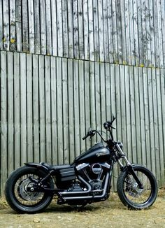 Custom Harley Davidson Dyna Street Bob, Voodoo Fender, LOW BOB   Rocket Bobs #harleydavidsondyna