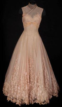 Vintage Chiffon Gown