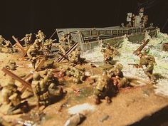 Dioramas and Vignettes: Normandy. D-day, photo #3