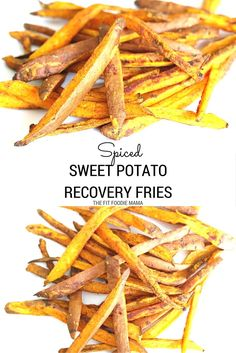 These sweet potato recovery fries are made with turmeric and cinnamon which have anti-inflammatory properties to help you refuel and recover quicker. The sweet potatoes themselves also offer amazing benefits since they are a great source of complex carbohydrate, beta-carotene, manganese, vitamin B6 and C as well as dietary fiber. Grab the recipe for these sweet potato fries along with other recipes to fuel with on TheFitFoodieMama.com