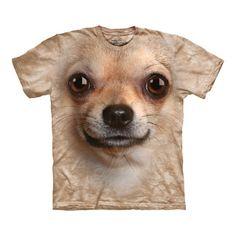 Big Face Chihuahua T-Shirt at Firebox.com,  $31.39