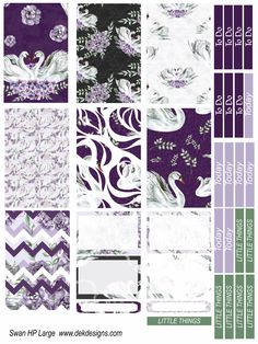 6 sheet kit on matte removable sticker paper. Available in Happy Planner Large 2016/17, Happy Planner Large 2017, Happy Planner Classic, Happy Planner Mini, Erin Condren Vertical. Happy Planner Large
