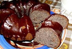W Mojej Kuchni Lubię.. - In My Kitchen I like ..: makowa babka z pomarańczowo-czekoladową polewą...