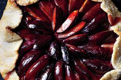 Find the recipe for Plum-Marzipan Galette and other plum recipes at Epicurious.com