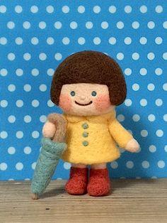 羊毛フェルト 女の子