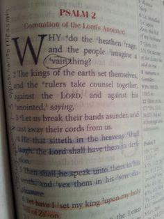 The Talbert Report: Psalm 2