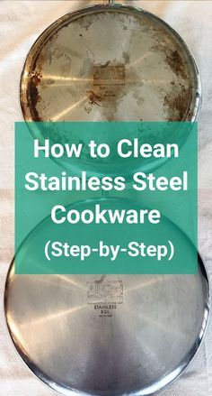 Clean Burnt Pots, How To Clean Rust, How Do You Clean, How To Remove Rust, Clean Clean, Clean Stainless Steel Pans, Stainless Steel Kettle, Stainless Steel Utensils, Stainless Steel Products